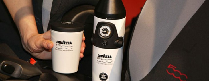 World's First In-Car Espresso Maker Comes with Fiat 500L