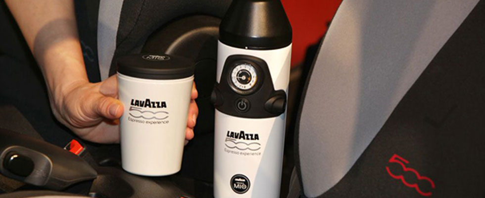 Worlds First In-Car Espresso Maker Comes with Fiat 500L