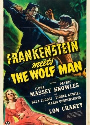 Frankenstein Meets the Wolf-Man