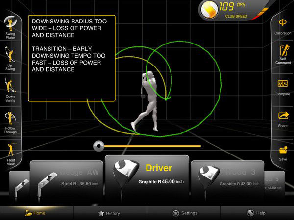 GolfSense – World's First 3D Swing Analyzer