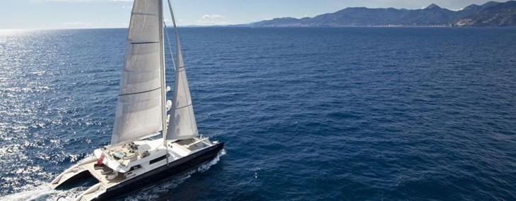 Live Bid for 8 Days Caribbean Charter Aboard Hemisphere – World's Largest Sailing Catamaran