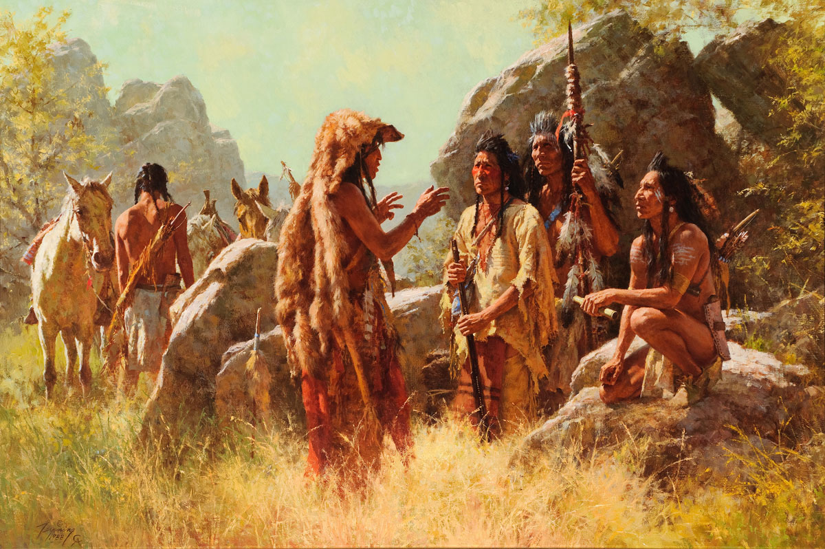a history of native americans and war