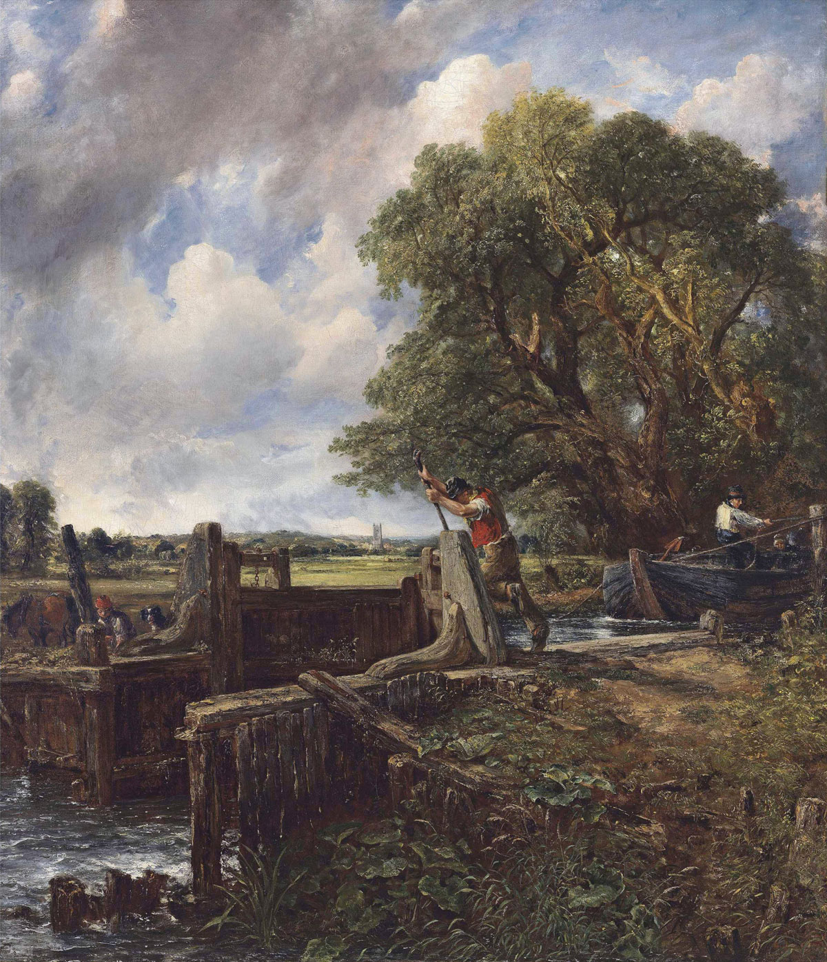 The lock painting by john constable sells for 35 million for John s painting