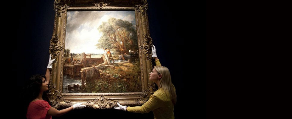 The Lock Painting by John Constable Sells for $35 Million