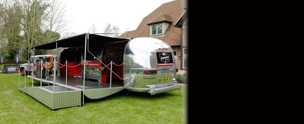 American Retro Caravans' Luxury Airstream