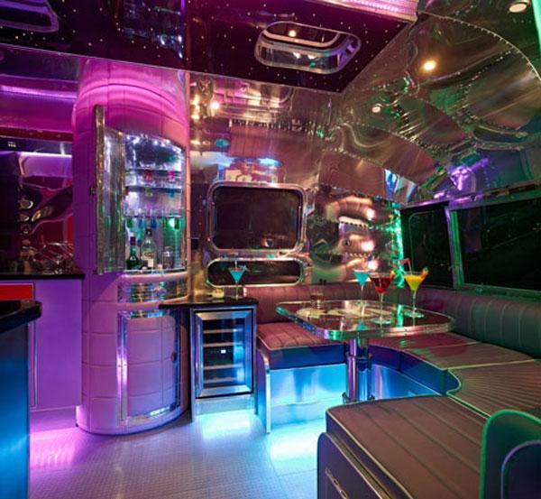 Luxury Lava Lamp Airstream By American Retro Caravans