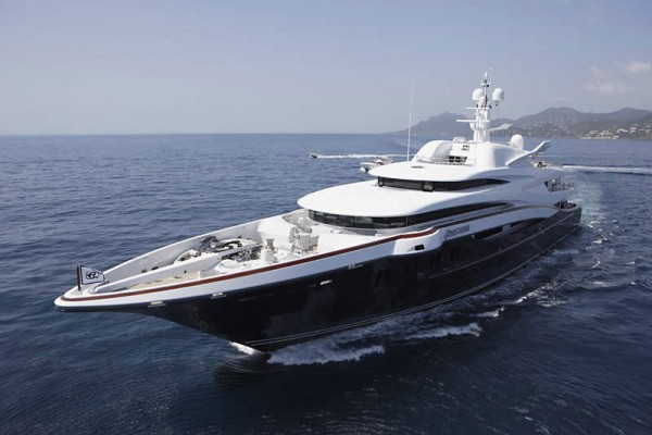 Luxury Yacht Anastasia