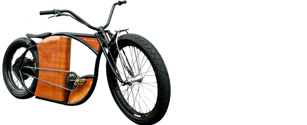 Marrs M-1 With Wood-Veneer Intends to be the Harley Davidson of Bicycles