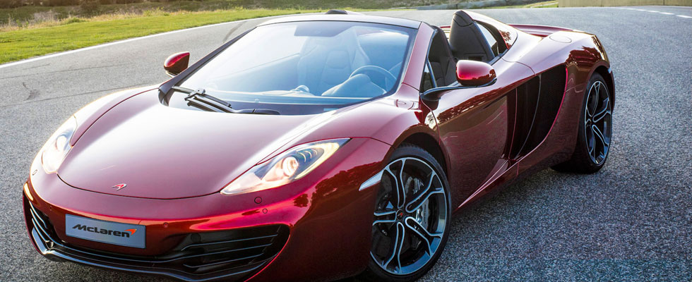 McLaren MP4-12C Spider Joins to Their Luxury Fleet