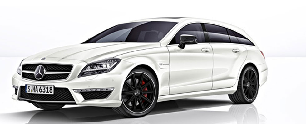 Mercedes-Benz CLS63 AMG Shooting Brake is an Estate Version of Benzs Seductive Saloon