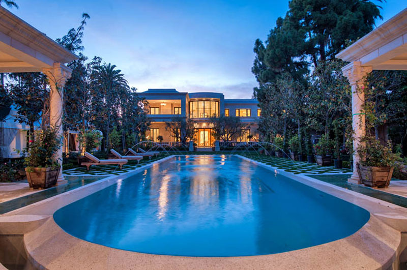 Mohamed Hadid's Le Palais - Beverly Hills Mega Mansion for ...