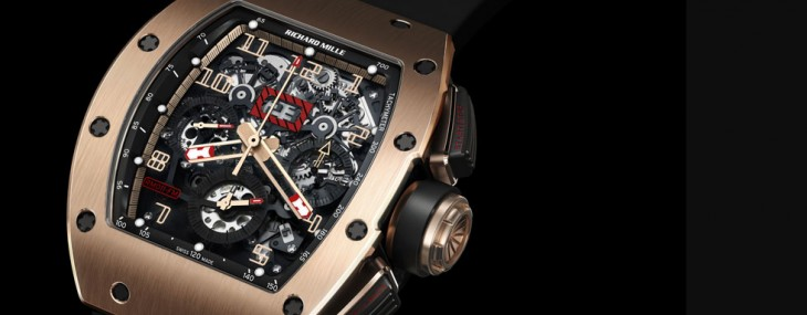 RM 011 Felipe Massa Red Kite Flyback Chronograph
