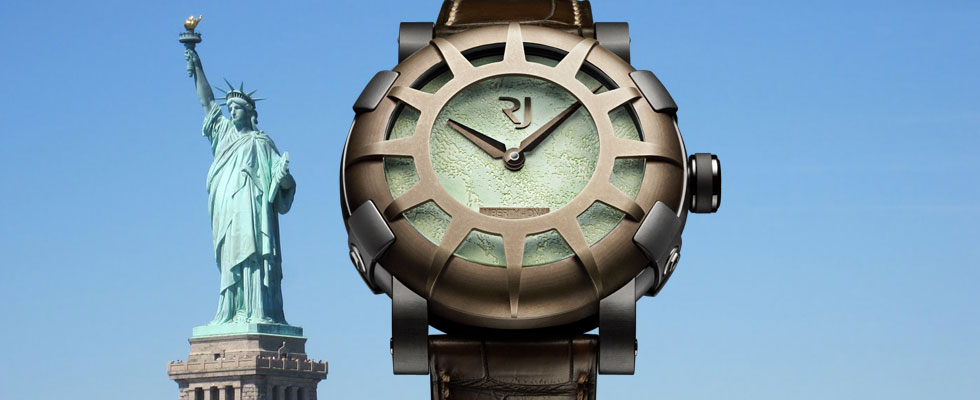Romain Jerome's Liberty DNA Watch – In Honor of the 125th Anniversary of the Statue of Liberty