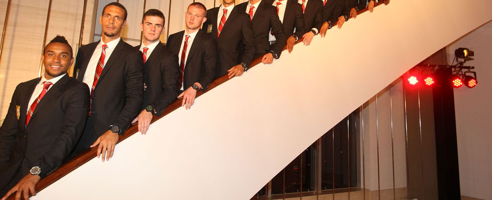 The Legendary Red Devils Take to the Catwalk
