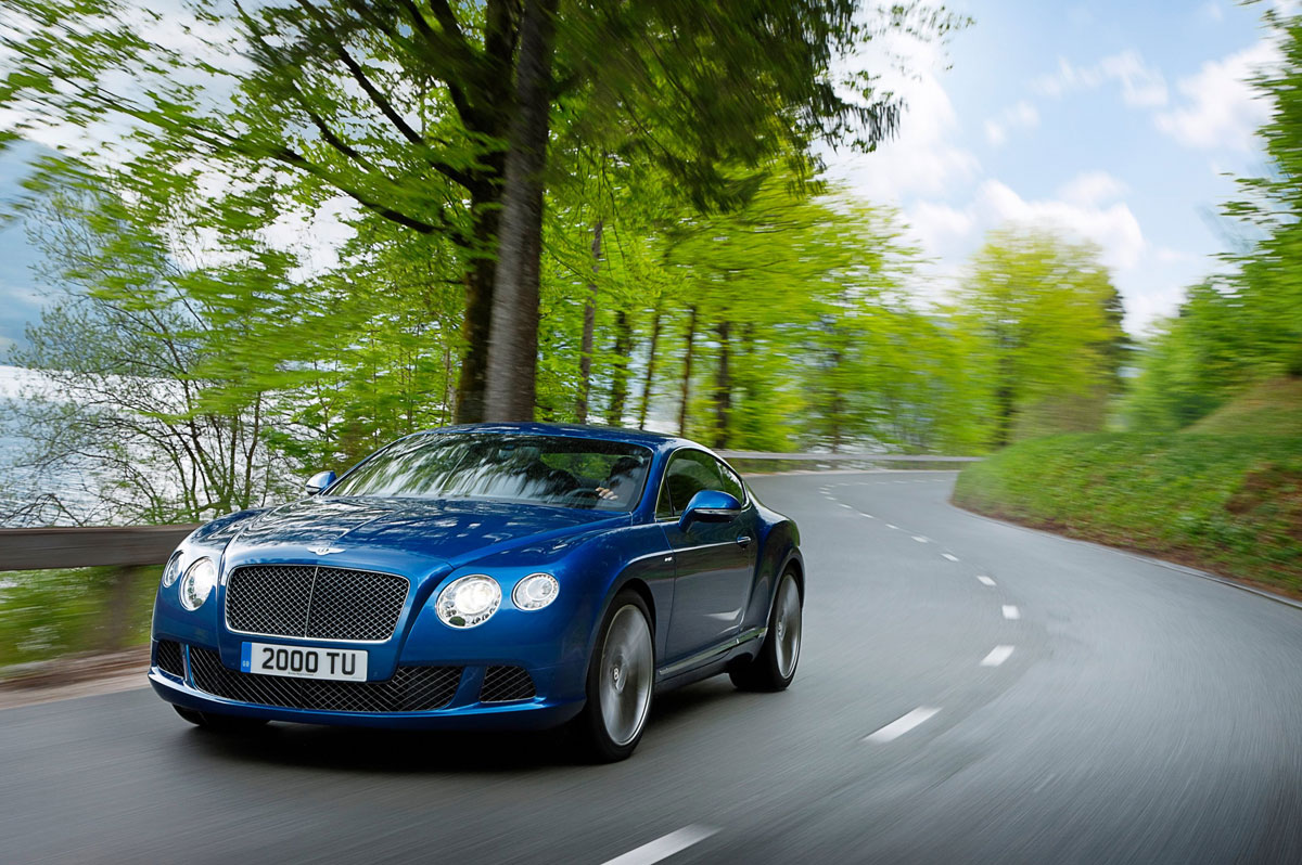 Bentley's Continental GT Speed Debuts at the Pebble Beach, California