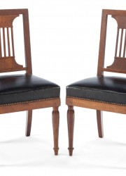 A-PAIR-OF-FRENCH-JACOB-FRÈRES-EMPIRE-WALNUT-SIDE-CHAIRS