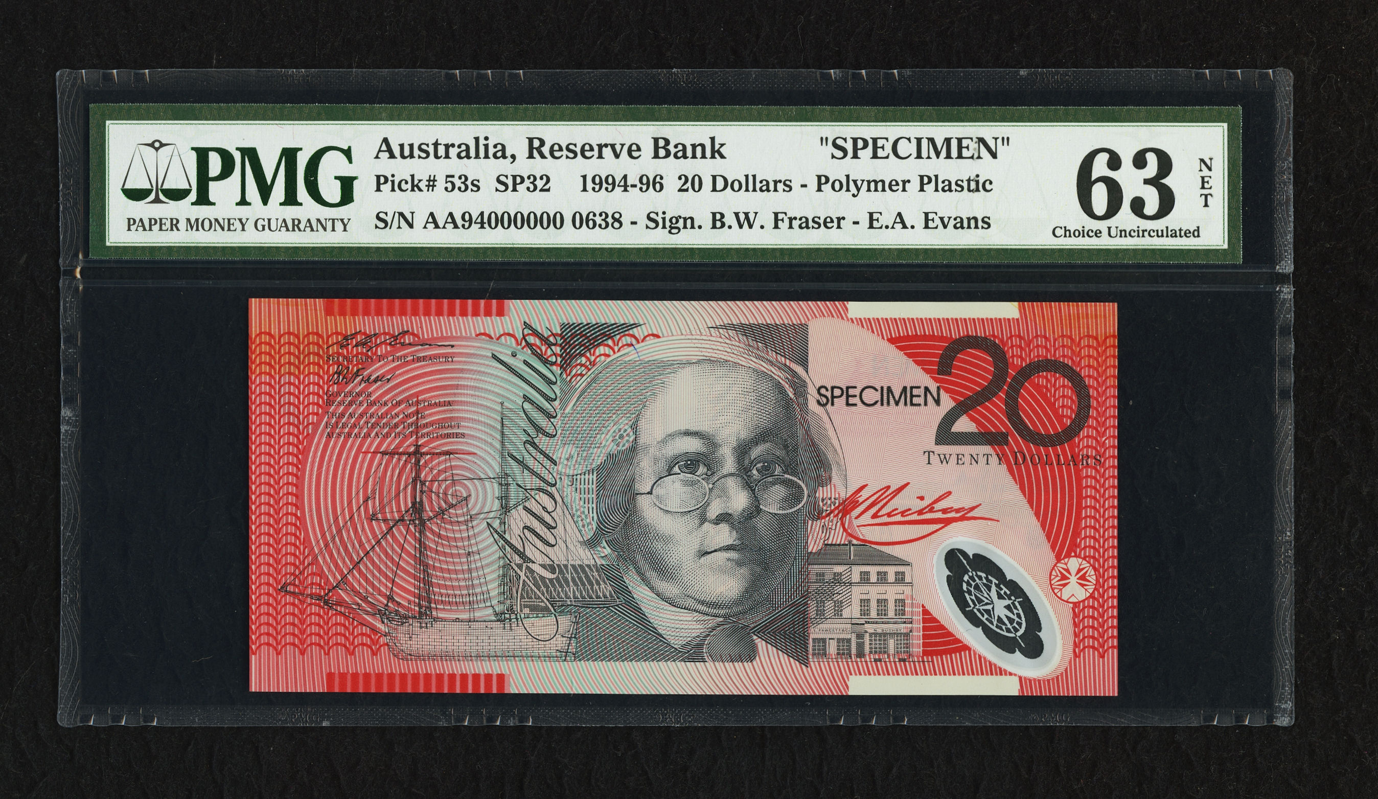 Australia Reserve Bank 20 Dollars ND 1
