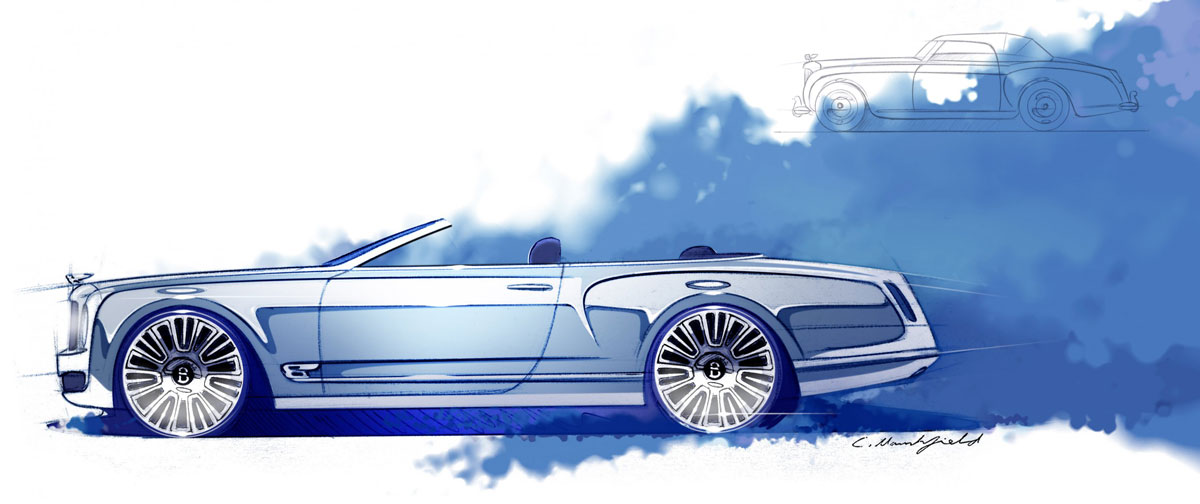 Bentley Announces New Mulsanne Vision – The World's Most Eelegant Convertible