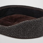 Bottega Veneta Nero Intrecciato Linen Dog Bed – for Better Sleep of Your Pet