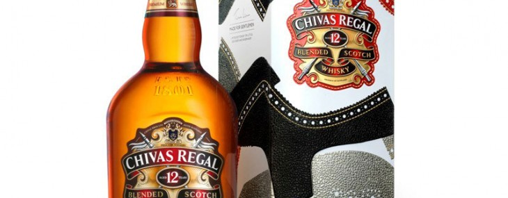 "Chivas Regal 12 Year Old Scotch Whisky ""Made for Gentlemen"" – Limited Edition by Tim Little"