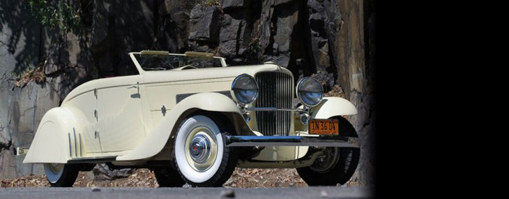Clark Gable's 1935 Duesenberg Convertible Coupe at Pebble Beach Auction