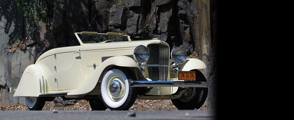 Clark Gables 1935 Duesenberg Convertible Coupe at Pebble Beach Auction