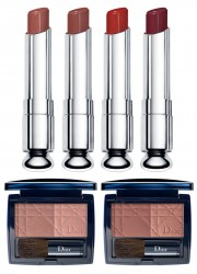 Dior-Golden-Jungle-Makeup-Collection-for-Fall-2012-blush-and-lipstick