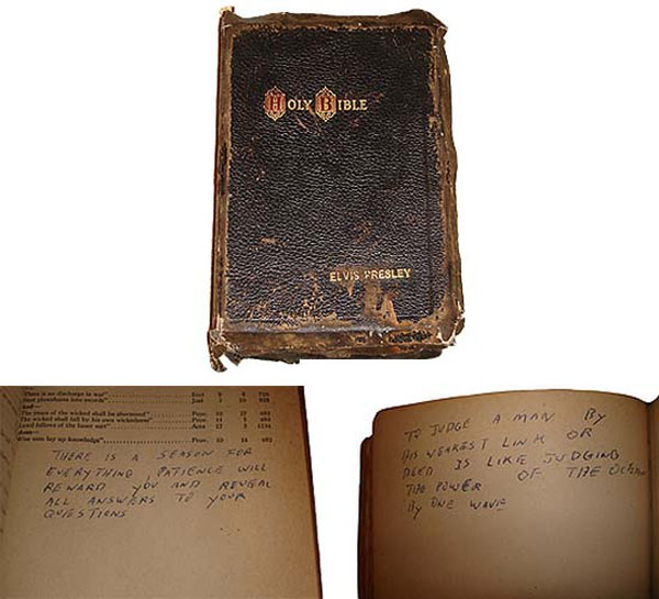 Elvis-Presley's-Holy-Bible