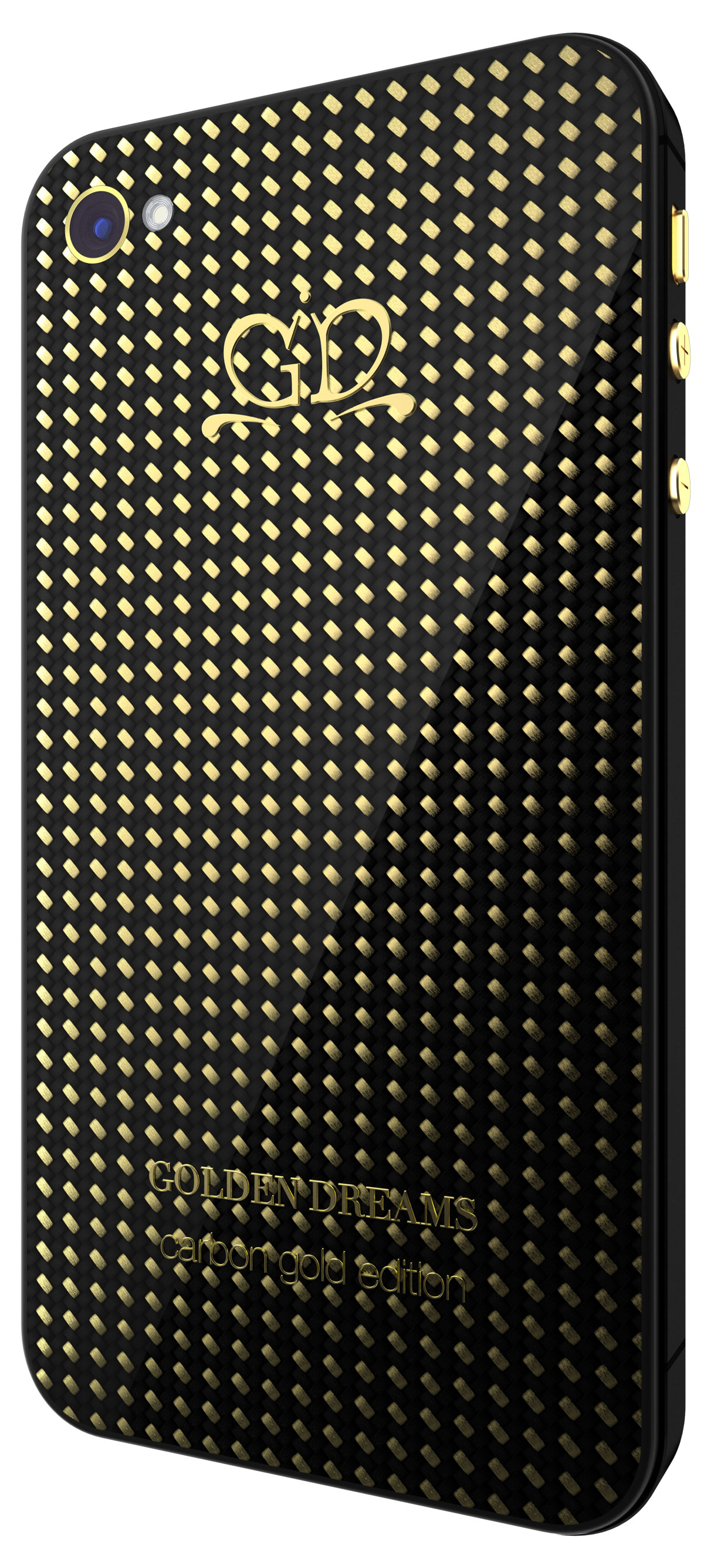 Golden Dreams Carbon Gold Luxury Composite Material