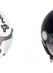 Helmets Adorned with Swarovski Crystals