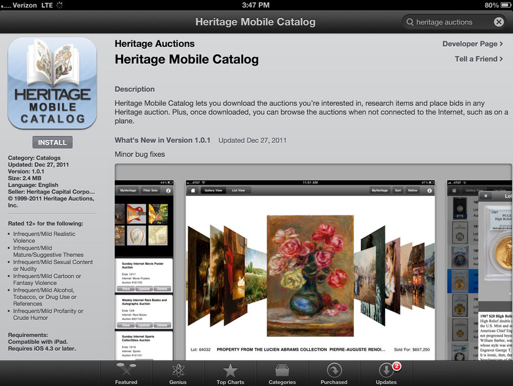 Heritage-Mobile-Catalog(HMC)-for-iPad