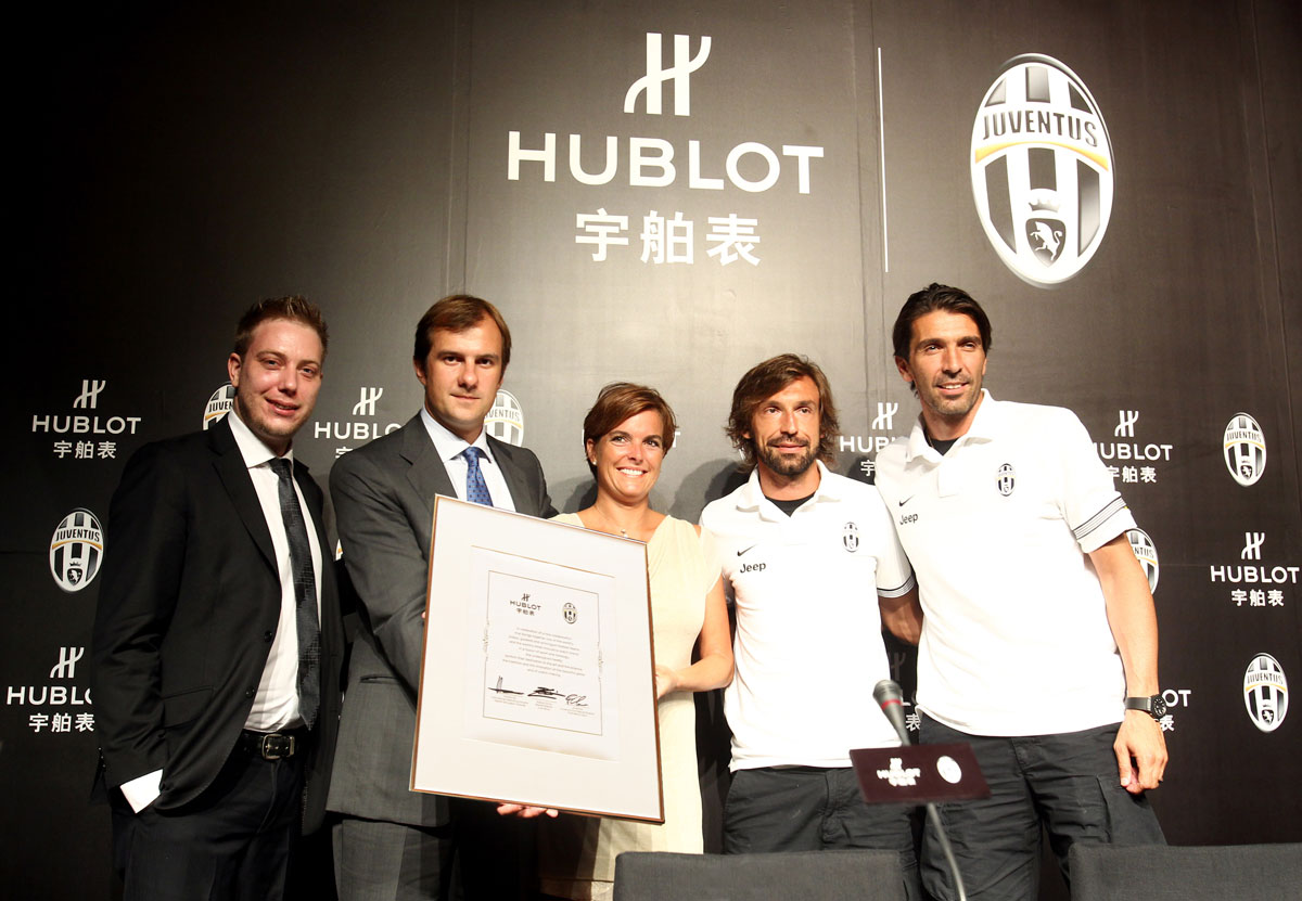 Juventus of Turin Chooses Hublot