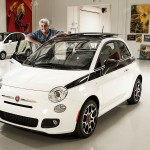 Jay Leno's 2012 Fiat 500 Auctioned at Pebble Beach for Charity