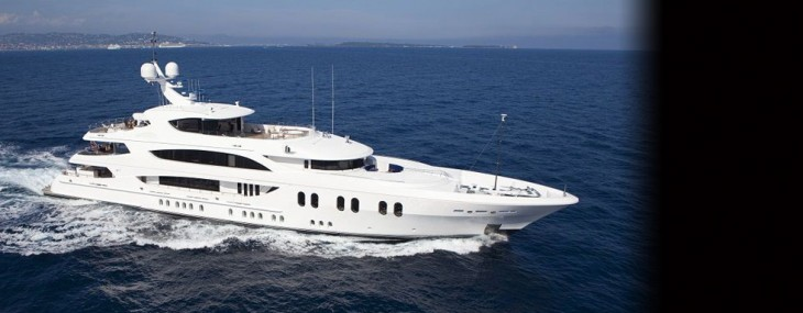 Luxury superyacht Lady Linda