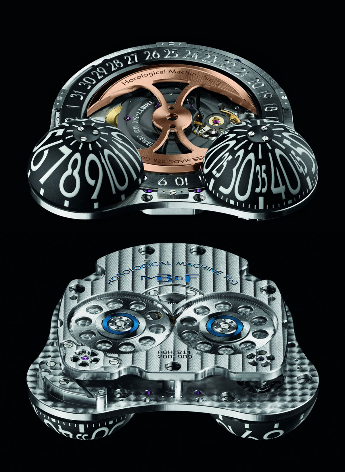 MB&F HM3 Poison Dart Frog Watch Inspired by the Yellow-banded Poison Dart Frog