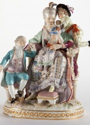 Meissen-Porcelain-Figural-Group-from-the-early-20th-century