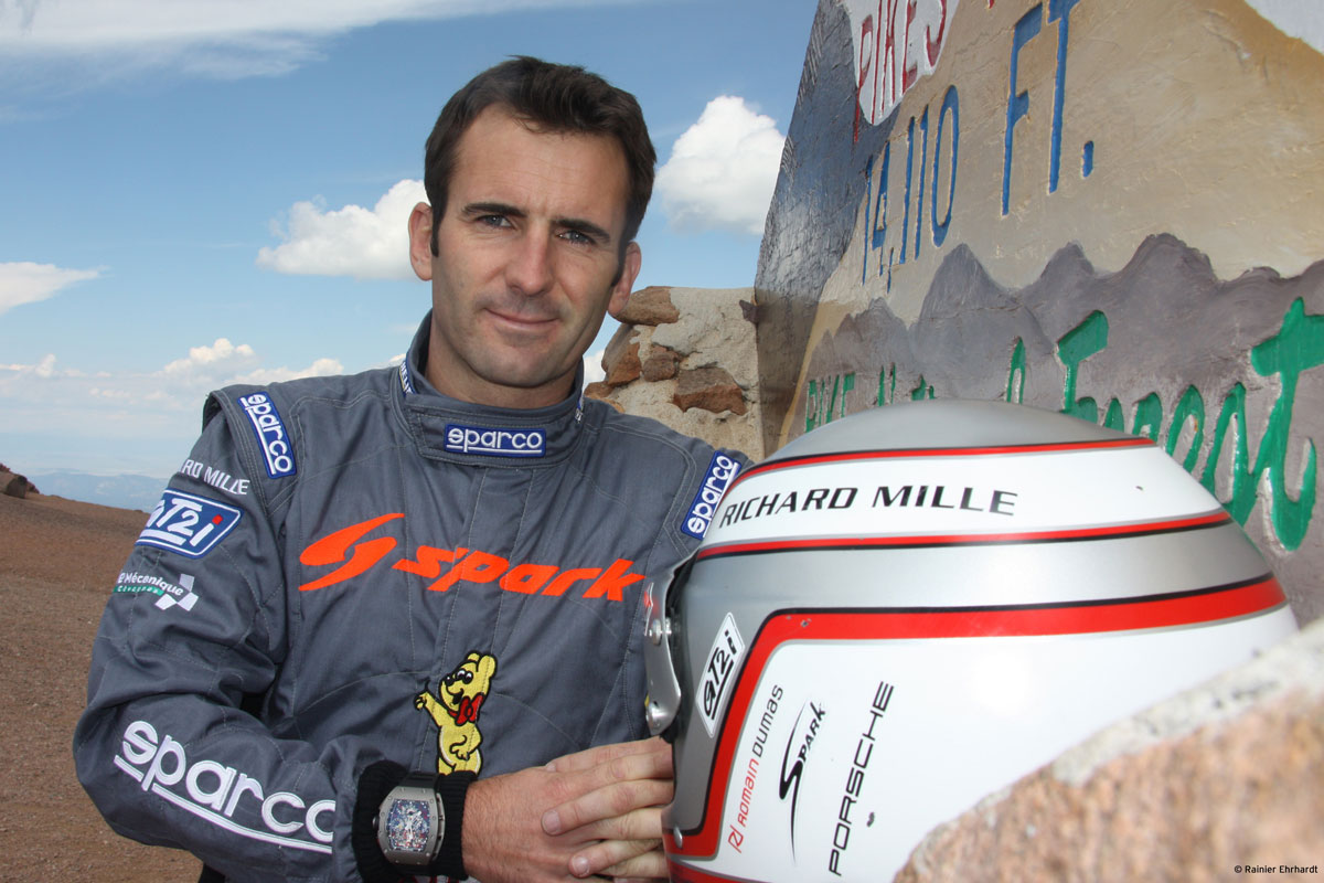 Race Car Driver Romain Dumas Joins Richard Mille