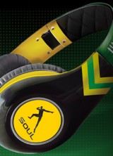 "Ludacris' SOUL SL300 Headphones for ""World's Fastest Man"" Usain Bolt"