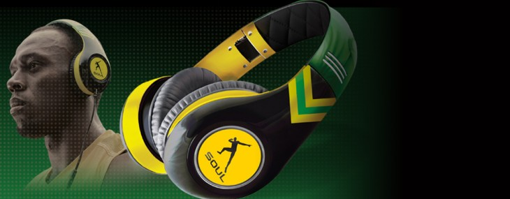 "Ludacris' SOUL SL300 Headphones for ""World's Fastest Man"" Usain Bolt"