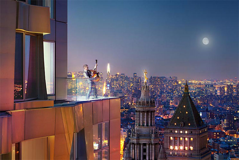 $60,000 Per Month to Rent New York Penthouse &#8211; the Tallest in the US