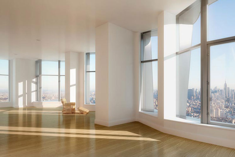 60 000 per month to rent new york penthouse the tallest