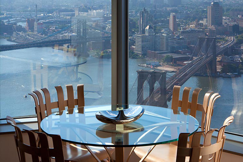 60 000 per month to rent new york penthouse the tallest for Most expensive penthouse in nyc
