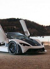 Tushek Renovatio T500 – Slovenian Supercar Debut at Salon Prive 2012