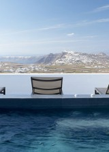 Villa Fabrica, Santorini, Greece – Simplicity of Luxury with Magnificent Views of the Aegean Sea