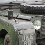 Winston Churchill's Custom Land Rover Goes Under the Hammer