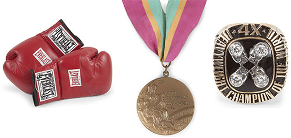 Exclusive Memorabilia of Evander Holyfield, Including Olympic Medal Go To Auction