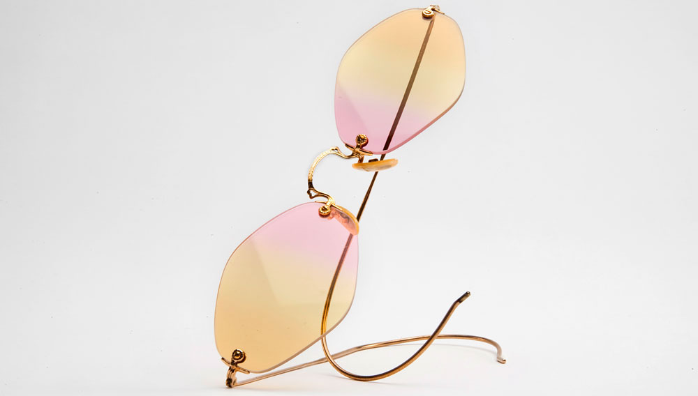 Visionary Sunglasses by Nader Zadi