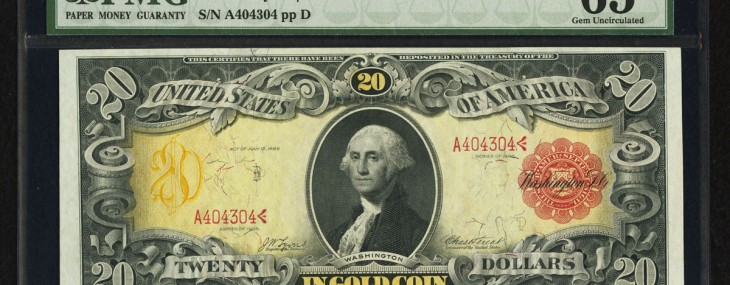 Technicolor Note to be Sold in Dallas Currency Auction