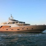 50 Metre 5000 Fly Couach Superyacht La Pellegrina Debuts at the Cannes Boat Show