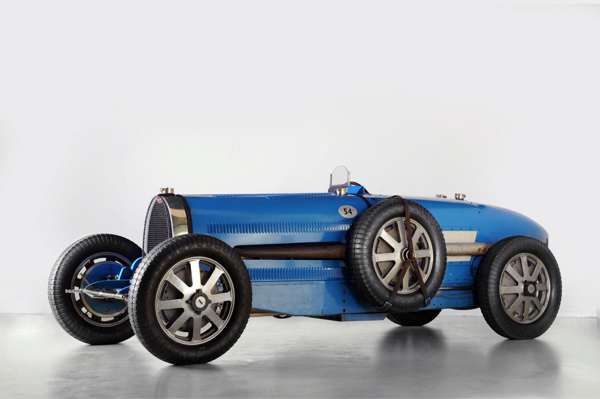 1931 Bugatti Type 54 Racer Could Fetch $4.4 Million at Bonhams Paris Auction